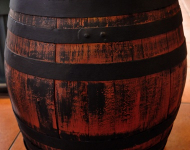 Wooden barrel 80l